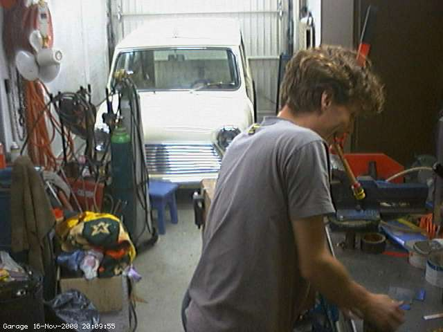 Garage webcam
